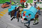 Celebrate 1969, Oil on canvas, 20.5 x 32in