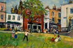 "Llewellyn Petley-Jones, (SOLD)""Marie Gallery, Richmond Hill"", oil on canvas"